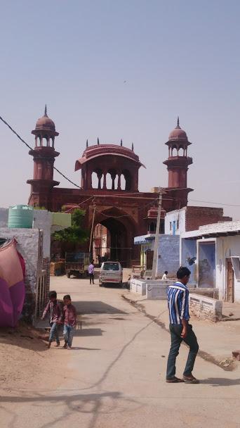 The Mughal Sarai