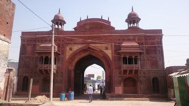 Mughal Sarai at Agra