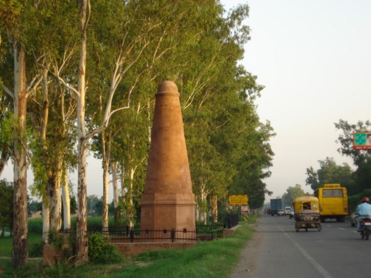 The Mughal Sarai in Agra